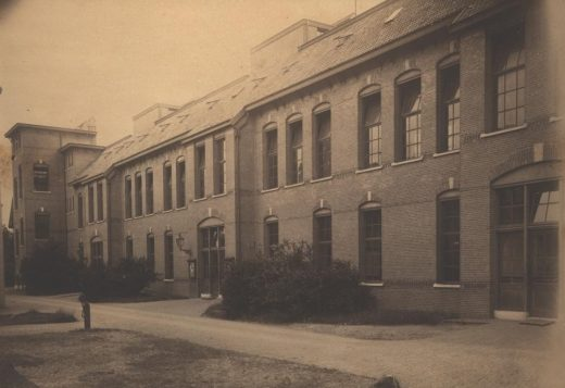 Foto van Veldzicht begin 1900